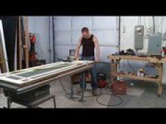 Handwerker treiben es in der Werkstatt